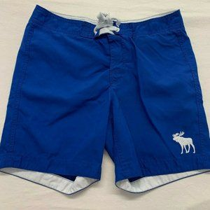 Abercrombie & Fitch Men's Swim Shorts Size XL Blue
